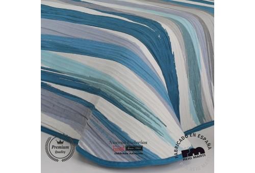 Couvre-lit Jacquard Reig Marti | Beyker 03 Bleu