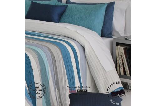 Jacquard bedspread Reig Marti   Beyker 03 Blue