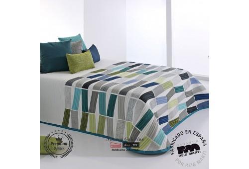 Jacquard bedspread Reig Marti | Celso 03 Blue