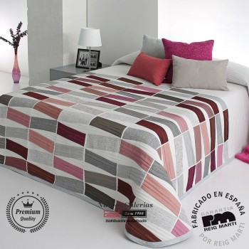 Jacquard bedspread Reig Marti | Celso 01 Red