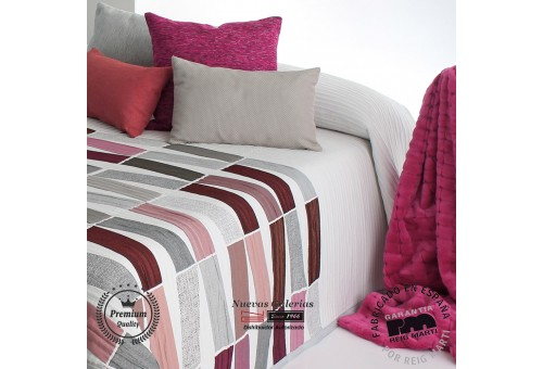 Jacquard bedspread Reig Marti   Celso 01 Red