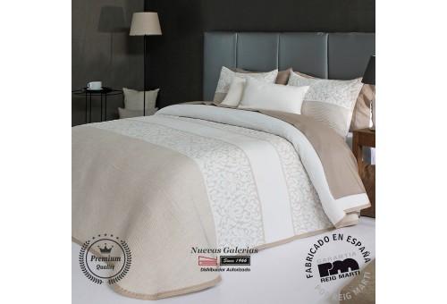 Jacquard bedspread Reig Marti | Cream 01 Beige