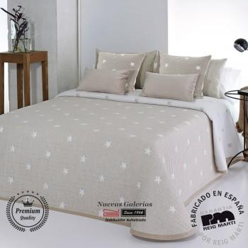 Jacquard bedspread Reig Marti | Kirby 01 Beige