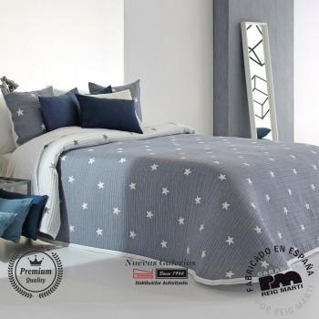 Jacquard bedspread Reig Marti | Kirby 03 Blue