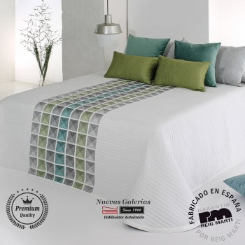 Jacquard bedspread Reig Marti | Leik 04 Green