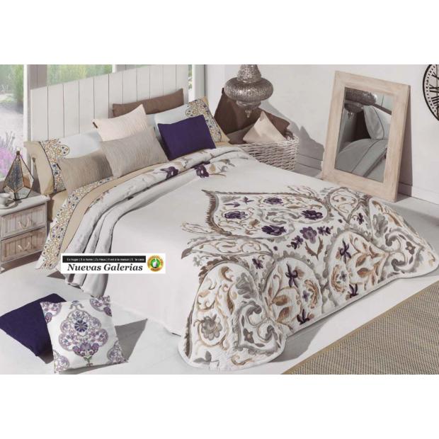 Manterol Manterol Bedcover | Acuarel 618-06 - 1 Manterol bedspread | Acuarel 618-06 Beig - Jacquard bedspread of high range and