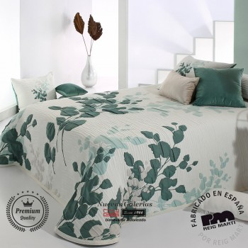 Jacquard bedspread Reig Marti | Lesly 04 Green