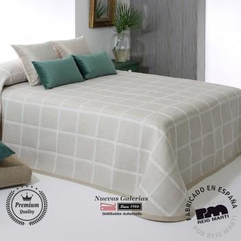 Jacquard bedspread Reig Marti | Maurice 01 Beige
