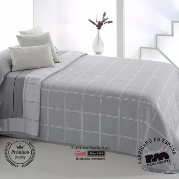 Jacquard bedspread Reig Marti | Maurice 08 Grey