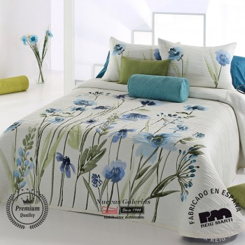 Jacquard bedspread Reig Marti | Okara 03 Blue