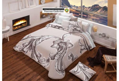 Manterol Manterol Bedcover | Karin 755-06 - 1 Manterol bedspread | Karin 755-06 Beig - Jacquard bedspread of high range and inte
