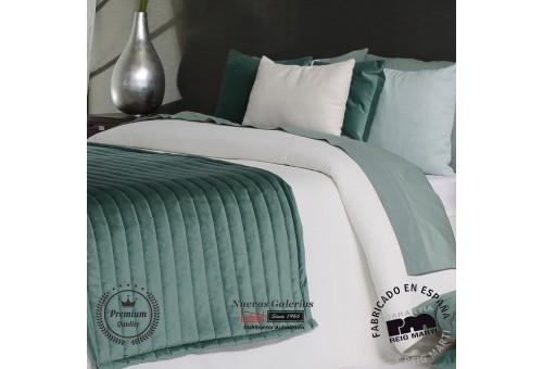 Jacquard bedspread Reig Marti   Polomar 00 White