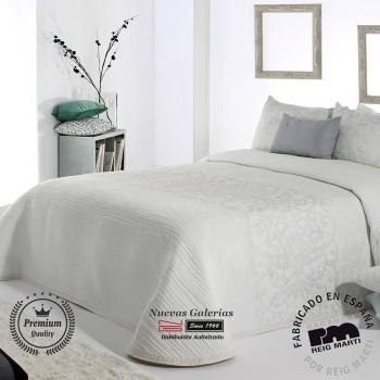 Jacquard bedspread Reig Marti | Pompey 00 White