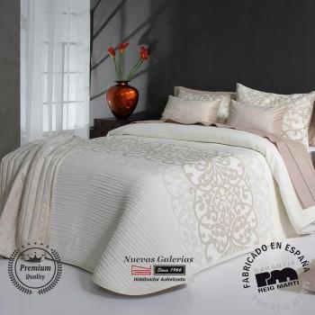 Jacquard bedspread Reig Marti | Pompey 01 Beige