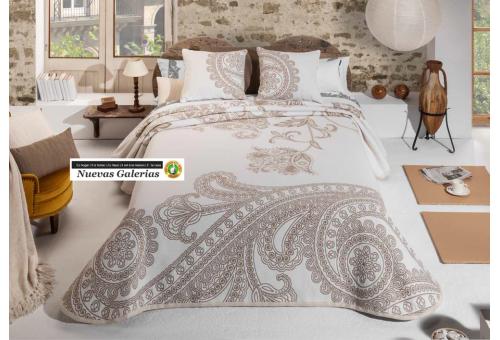 Manterol Manterol Bedcover | Cloe 756-07 - 1 Manterol bedspread | Cloe 756-07 Beig? - Jacquard bedspread of high range and inter