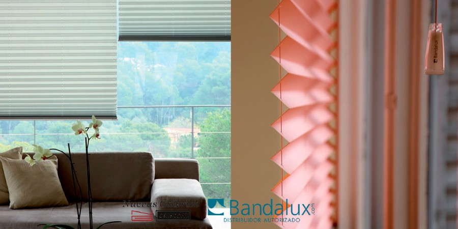 Pleated shade | Bandalux