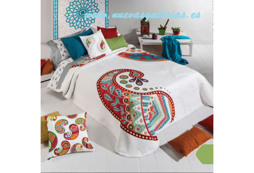 Manterol Manterol Bedcover | Oriente 608-15 - 1 Oriental Quilt 608-15 | Manterol - Jacquard quilt of high range and intermediate