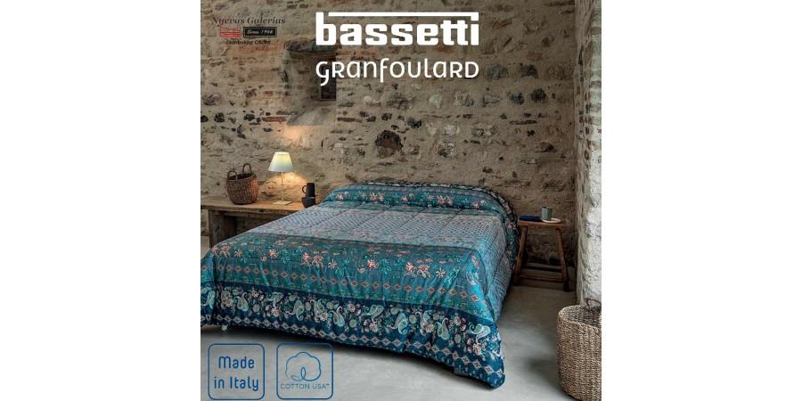Courtepointe Bassetti FABRIANO   Granfoulard