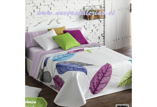 Manterol Manterol Bedcover | Botanica 603-15 - 1 Botanica Bedspread 603-15? | Manterol - Jacquard quilt of high range and interm