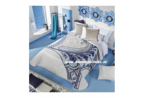 Manterol Manterol Bedcover | Cachemira 602-08 - 1 Cashmere Bedspread 602-08 | Manterol - Jacquard quilt of high range and interm
