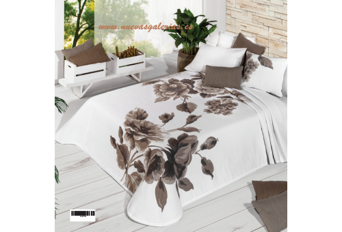 Manterol Manterol Bedcover | Flora 770-06 - 1 Flora Bedspread 770-06 | Manterol - Jacquard quilt of high range and intermediate