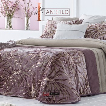 Antilo Bouti Quilt | Palm Malva