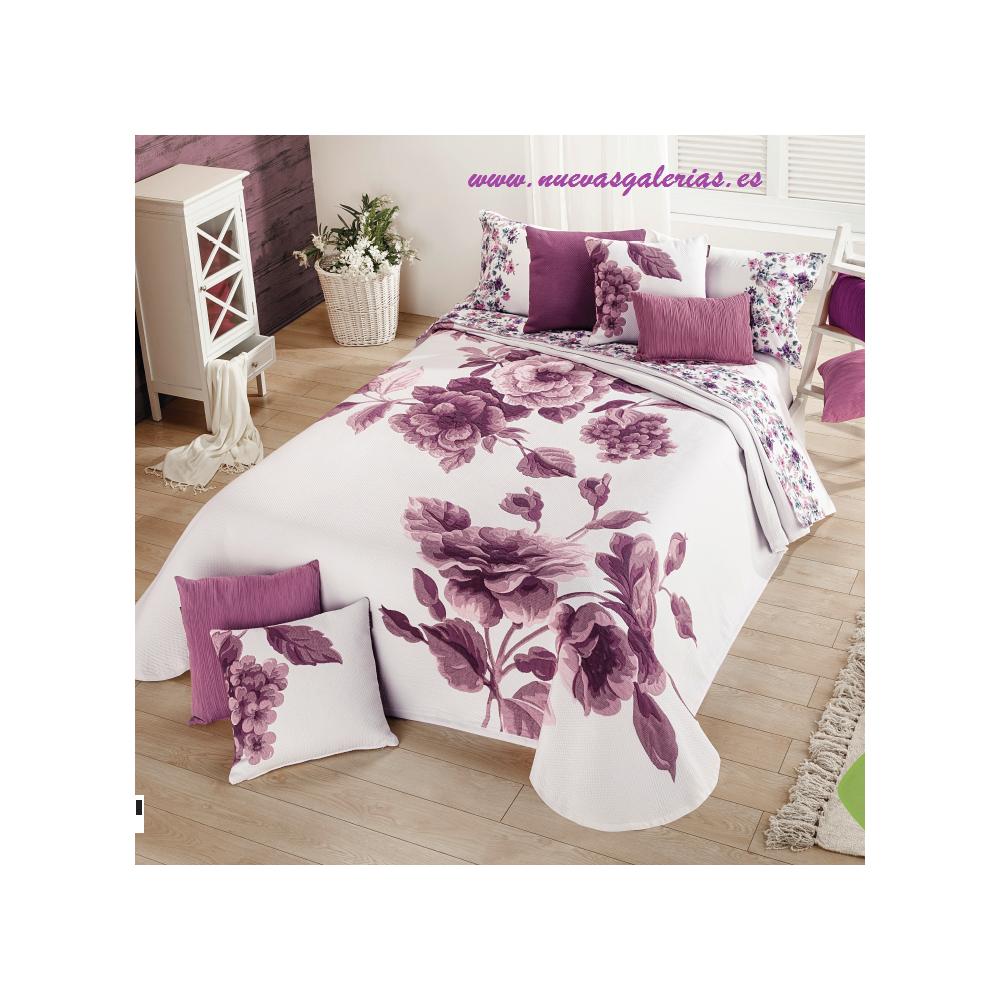 Elegant Couvre-lit Violet d/ét/é Lilas 260/x 270/cm