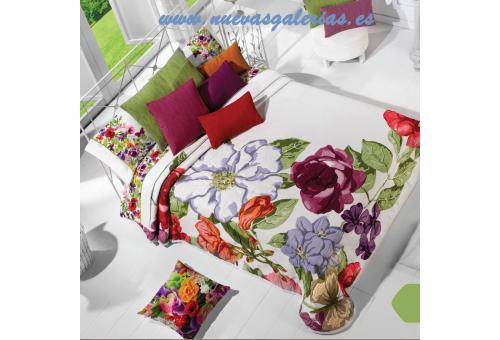 Manterol Manterol Bedcover | Primavera 609-15 - 1 Spring Bedspread 609-15 | Manterol - Jacquard quilt of high range and intermed