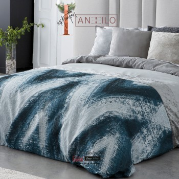 Antilo Duvet Cover | Happy Azul