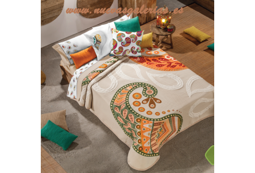 Manterol Manterol Bedcover | Oriente 608-06 - 1 Oriental quilt 608-06 | Manterol - Jacquard quilt of high range and intermediate