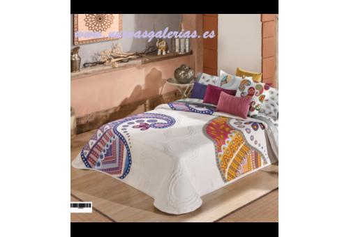 Manterol Colcha Oriente 608-08 | Manterol - 1 Colcha Oriente 608-08| Manterol-Colcha Jacquard de gama alta y grosor intermedi