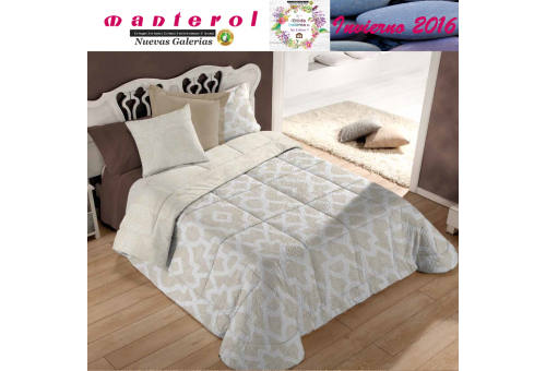 Manterol Quilt Bouti Winter 127-06   Manterol - 1 Edited by Bouti Winter 127-06   Manterol - Quilt completely reversible, with t