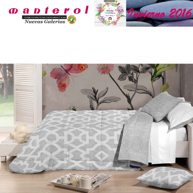 Manterol Quilt Bouti Winter 127-12 | Manterol - 1 Edited by Bouti Winter 127-12 | Manterol - Quilt completely reversible, with t