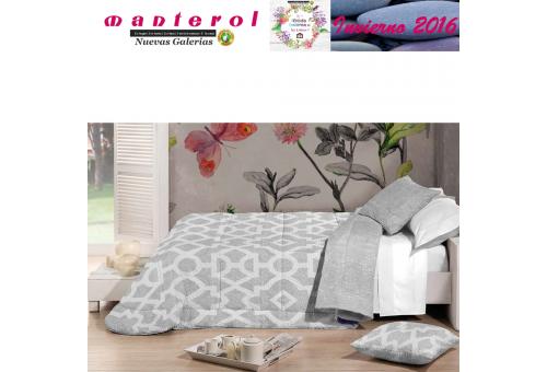 Manterol Edredon Bouti Winter 127-12 | Manterol - 1 Edredon Bouti Winter 127-12| Manterol -Edredón totalmente reversible, con