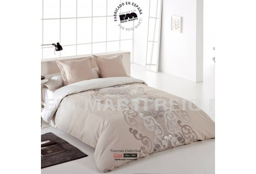 Reig Marti Reig Marti Duvet Cover | Aura Beig - 1 Nordic Aura cover in Beig color, by Reig Martí. Composed of 3/4 pieces (bag, a