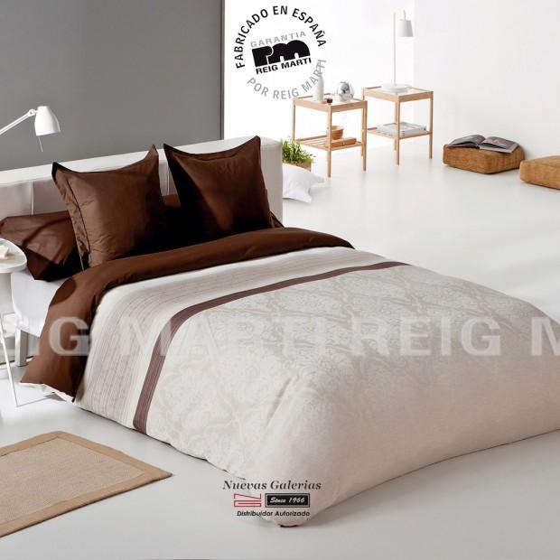 Reig Marti Reig Marti Duvet Cover | Graco Marron - 1 Graco Duvet Cover in Brown, by Reig Martí. Composed of 3/4 pieces (bag, adj