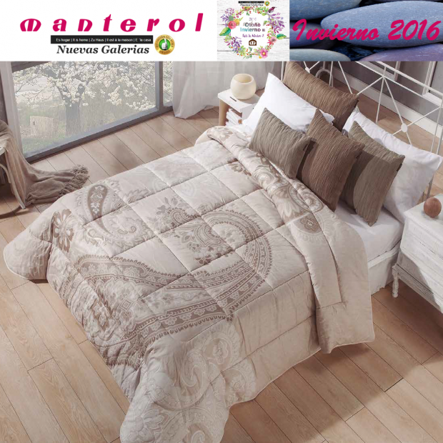 Manterol Quilt Ankara 147-07 | Manterol - 1 Quilt Ankara 147-07 | Manterol - Jacquard quilt ideal for the winter months