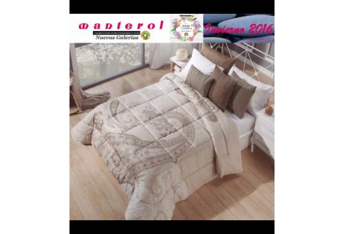 Manterol Edredon Quilt Ankara 147-07 | Manterol - 1 Edredon Quilt Ankara 147-07| Manterol -Edredón jacquard ideal para los mes