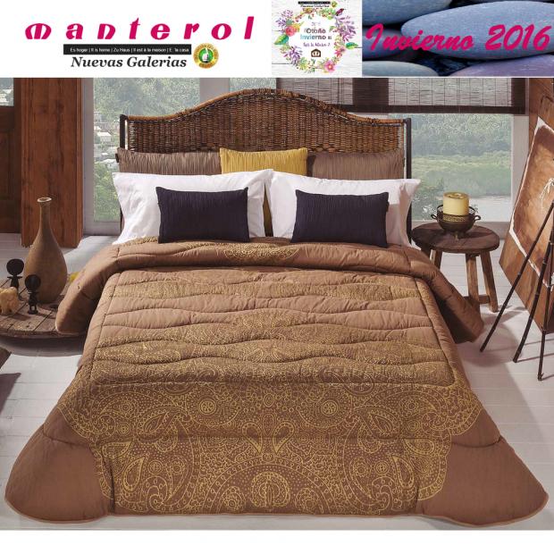 Manterol Trapunte Quilt Onur 153-07 | Manterol - 1 Quilt Onur Quilt 153-07 | Manterol - Trapunta jacquard ideale per i mesi inve