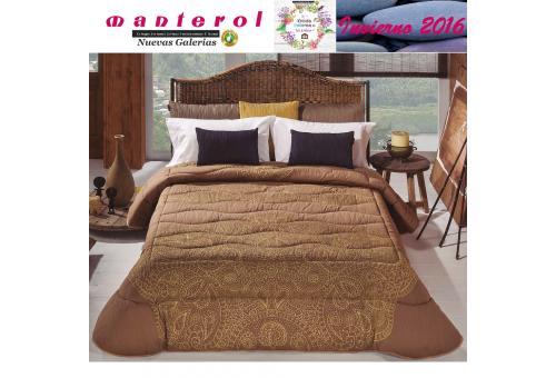 Manterol Edredon Quilt Onur 153-07 | Manterol - 1 Edredon Quilt Onur 153-07 | Manterol -Edredón jacquard ideal para los meses d