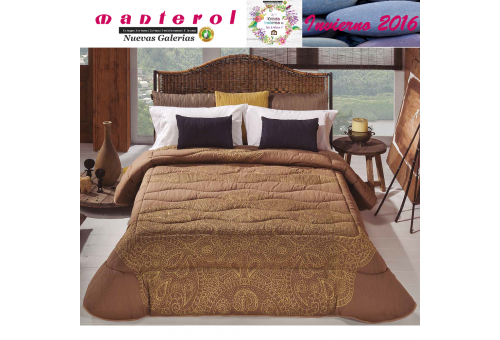 Manterol Quilt Onur 153-07 | Manterol - 1 Quilt Onur Quilt 153-07 | Manterol - Jacquard quilt ideal for the winter months. Certi