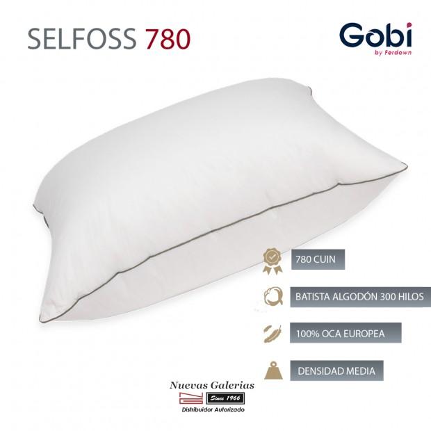 Selfoss Euro Square Down Pillow 750 CUIN | Ferdown