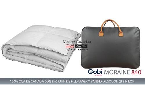 Oreiller Carré Moraine 100% d´oie 830 CUIN   Ferdown