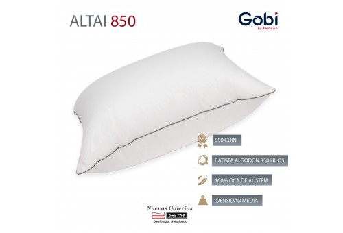 Altai Euro Square Down Pillow 850 CUIN | Ferdown