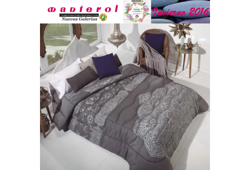 Manterol Quilt Onur 153-12 | Manterol - 1 Quilt Onur 153-12 | Manterol - Jacquard quilt ideal for the winter months. Certified Q