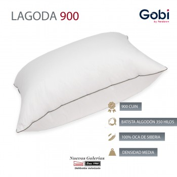 Lagoda Square Down Pillow 900 CUIN | Ferdown