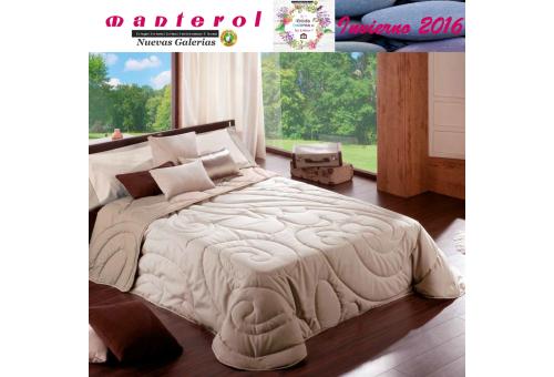 Manterol Edredon Quilt Cachemir 134-07 | Manterol - 1 Edredon Quilt Cachemir 134-07 | Manterol -Edredón jacquard ideal para los