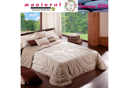 Manterol Quilt Cachemir 134-07 | Manterol - 1 Quilt Cachemir Quilt 134-07 | Manterol - Jacquard quilt ideal for the winter month