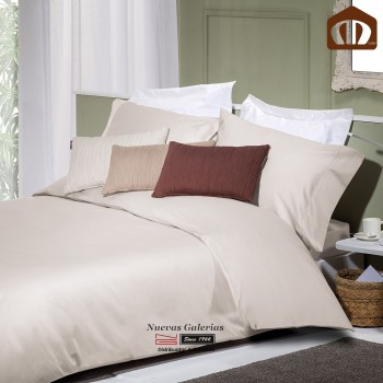 Manterol Duvet cover Set - Exclusive Beige 400 threads