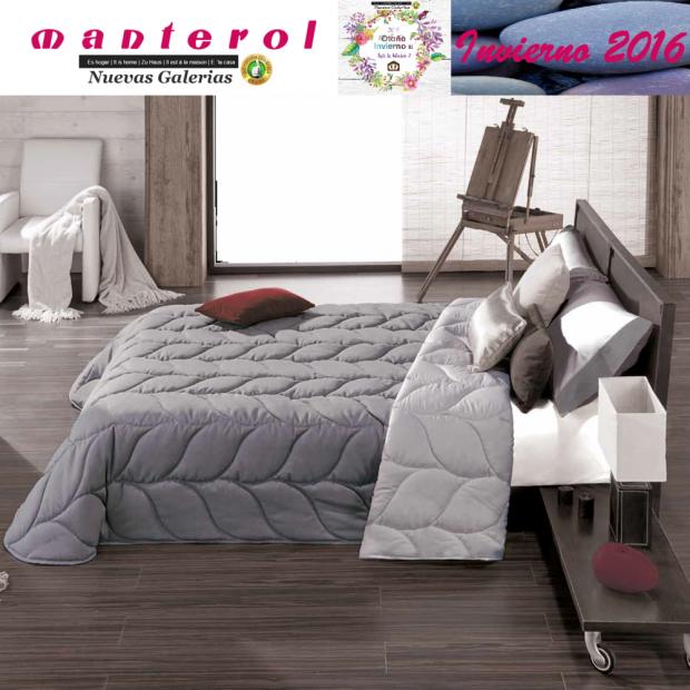 Manterol Edredon Quilt Espiga 130-12 | Manterol - 1 Edredon Quilt Espiga 130-12 | Manterol -Edredón jacquard ideal para los mes